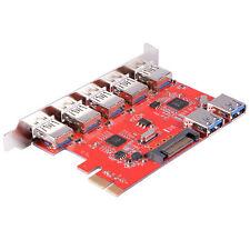 Desktop PCI-Express to 5-Port Interface with 2-Port Internal USB 3.0 Card AC581