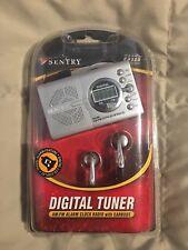 Vintage Sentry Ultra Slim AM/FM Portable Radio with earbuds model Ca120