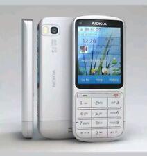 BRAND NEW NOKIA C3-01 SILVER UNLOCKED PHONE - BLUETOOTH - 5MP CAMERA - 3G - WIFI