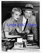 "Jane Nigh & Pat McVey Promotional Photograph ""Big Town"" 1950 - 1956"