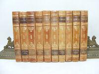JEAN-CHRISTOPHE Lot de 10 tomes OLLENDORFF / Albin MICHEL 1925 Romain ROLLAND