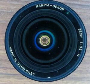 "Mamiya 35mm F3.5 ""N"" Lens for 645-Series Cameras (not AF)"