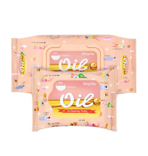 Bling Day Oil Face Wipe Cleansing Facial Makeup Remover Tissue Made in Korea