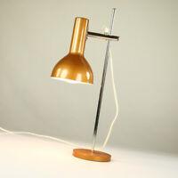 Tisch Lampe Strahler Spot Lese Lampe bronzefarben Vintage Design 60er 70er