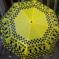 New York City Yellow Taxi Umbrella sturdy black boxes