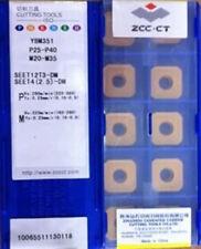 ZCC SEET120308PER-PM YBD252 SEET422PER 10PCS CARBIDE INSERTS Apply SANDVIK ISCAR