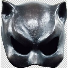 Cat Girl Woman Half Face Mask Latex Fancy Dress Halloween Adult One Size