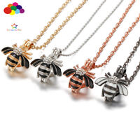 Newest Aroma Diffuser wasp Necklace Lockets Perfume Essential Oil Aromatherapy