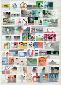 Germany Selection Of UM/MNH Commemorative Sets From 2000 As Scanned