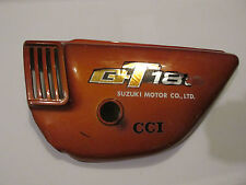 SUZUKI GT 185 GT185 LEFT FRAME SIDE COVER LEFT  COVER 1975 C1
