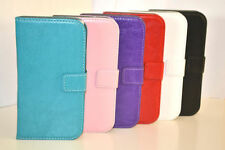 Plain Mobile Phone Wallet Cases for Samsung Galaxy S with Card Pocket