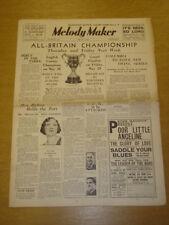 MELODY MAKER 1936 MAY 23 MRS JACK HYLTON PHIL RICHARDSON BIG BAND SWING