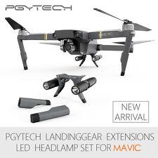 PGYTECH Landing Gear Extensions LED Headlamp Suit for Mavic Pro