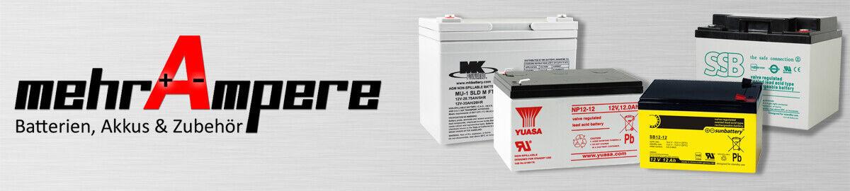 mehrAmpere-Batterien
