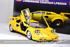 KYOSHO 1:18 lamborghini Countach LP5000S yellow