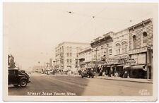 Real Photo Postcard Street Scene in Yakima, Washington~105805