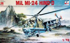 "ESCI 1:72 MiL Mi-24 ""Hind""-D. Soviet attack helicopter. Kit Nr. 9069"