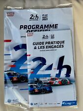 More details for le mans 2021 official wec programme including le mans bag