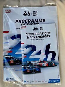 Le Mans 2021 Official WEC Programme including Le Mans Bag