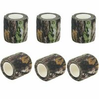 6X Bionic Camo Camouflage Stealth Tape Wrap 5CMx4.5M Military Outdoor Camping