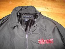 The SOPRANOS JAMES GANDOLFINI Embroidered JOHNNY WALKER Zippered (LG) Jacket