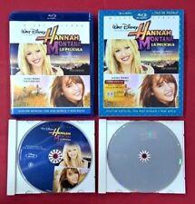 Hanna Montana la Pelicula Blu-ray - DVD - Walt Disney - USADO - MUY BUEN ESTADO