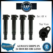 For 2006-2001 Accent Rio Rio5 Set of 4 Direct Ignition Coil New