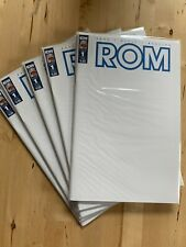 IDW Comics ROM Blank Cover # 1 BLANK Comic Book Variant Sketch Cover NM