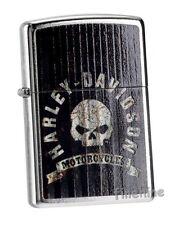 METAL SKULL Harley Davidson ZIPPO neu+ovp Street Chrome