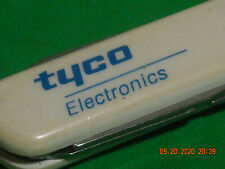 White Wenger Esquire  Swiss Army Knife TYCO ELECTRONICS