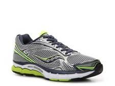 ¡Nuevo! Saucony Hombre Triumph 9 Atletismo Zapato de Gris / Amarillo Talla:9