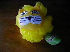 2 LSU TIGERS Officially Licensed Mascot Wear Bath Loofah NWT