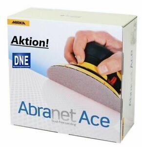 Reduziert! Mirka Abranet ACE Schleifscheiben  125mm  &  150mm alle Körnungen!
