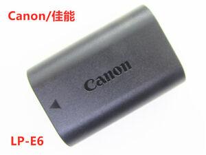 Genuine Canon Battery LP-E6 For EOS  5D2 5D3 6D 60D 7D 70D 80D 6D2