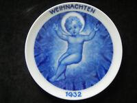 Rosenthal Weihnachtsteller 1932 Marienkind Otto Koch  (meine Art.-Nr. 1932-3)
