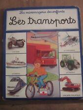 La minimagerie des enfants: les transports/ Editions Fleurus Enfants, 1997