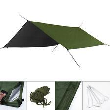 Nylon Tent Tarp Rain Sun Shade Hammock Shelter Waterproof Camping Picnic Cover
