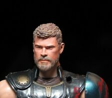 RETIRE HEAD ONLY Marvel Legends Custom painted Head Thor helmetless