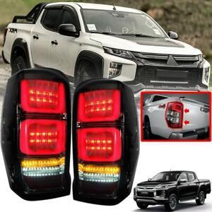 Modified LED Tail Lamp For Mitsubishi L200 Triton 2019 2021 Set LH RH New