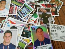 LOT 80 VIGNETTES STICKERS PANINI FOOT 2012-13