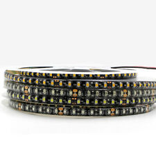 LED Strip Light 5050 3528 SMD waterproof 600 led black PCB Tape string lamp 12V