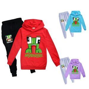 UNSPEAKABLE Kids Boy Hoodies Sweatshirts Pullover Children Cartoon  Jumper suit