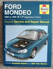 HAYNES FORD MONDEO 1993 to 1999 (K to T registration) Petrol SERVICE & REPAIR
