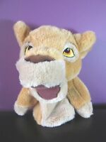 """Disney Store Simba 10"""" approx hand puppet glove soft toy plush The Lion King"""