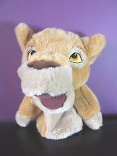 "Disney Store Simba 10"" approx hand puppet glove soft toy plush The Lion King"