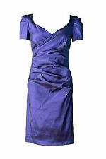 SUCCESS Taftkleid 38 Etuikleid Cocktailkleid Abendkleid apart blau 461916 #401C