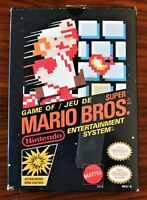 SUPER MARIO BROS. (NES) *STAR CODE* RARE CANADIAN VARIANT BOX* COMPLETE IN BOX