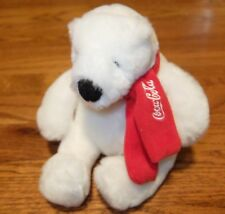 Coca-Cola Polar Bear with Scarf (Authorized) - Plush Collectible Traly 15088