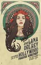 LANA DEL REY MUSIC STAR HUGE ART PRINT POSTER LLFGZ0007
