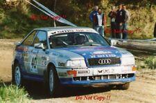 Malcolm Stewart AUDI COUPE S2 NEW ZEALAND RALLY 1993 fotografia 3